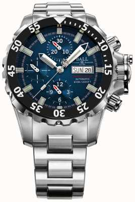 Ball Watch Company Homme ingénieur bleu nedu hydrocarbure 600m automatique chrono DC3026A-SC-BE