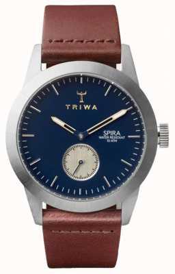 Triwa Duke spira marron classique argent SPST104-CL010212