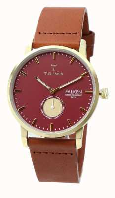 Triwa Femmes ruby falken marron classique FAST117-CL010212