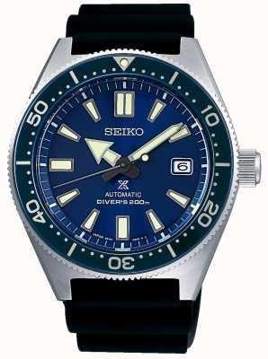 Seiko Cadran bleu marine Prospex bleu lunette vissée couronne SPB053J1