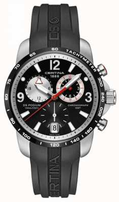 Certina Mens ds podium grande taille chrono gmt quartz C001.639.27.057.00