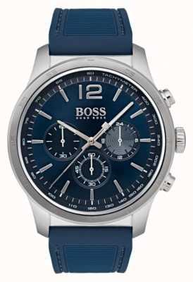 Hugo Boss Montre chronographe professionnel pour homme bleu 1513526