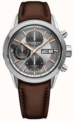 Raymond Weil Montre chronographe automatique pour homme 7731-SC2-65655