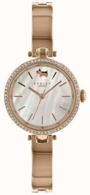 Radley Mesdames 28mm boîtier blanc cadran demi-bracelet RY4326