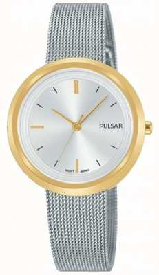 Pulsar Bracelet en maille d'acier pour femme en or PH8386X1