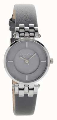 Anne Klein Womens liliana gris argent bracelet en cuir AK/N2685GMGY
