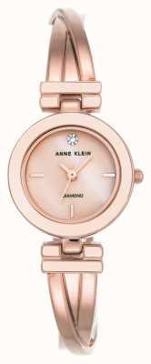 Anne Klein Womens liliana nude argent bracelet en cuir AK/N2685PMLP