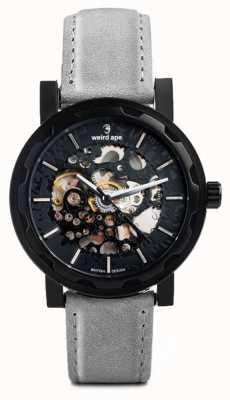 Weird Ape Kolt Automatique ardoise gris en daim cuir noir étui ip WA02-005512