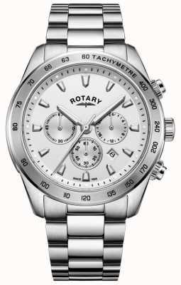 Rotary Gents Henley chronographe bracelet en acier inoxydable GB05115/06