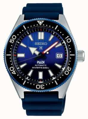 Seiko Prospex padi loisirs cadran bleu bracelet en résine bleue SPB071J1