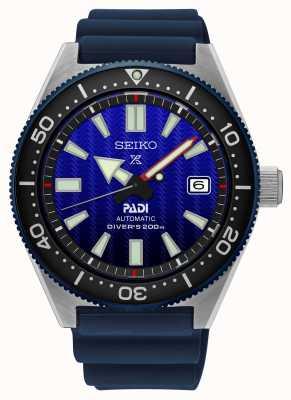 Seiko Prospex Padi Recreation Cadran Bleu Bracelet Résine Bleu SPB071J1