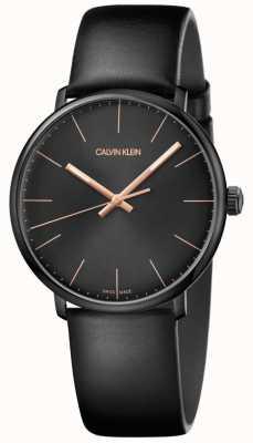 Calvin Klein Mens haute montre midi minimaliste K8M214CB