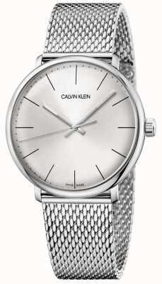Calvin Klein Mens haute midi en acier inoxydable montre en maille K8M21126