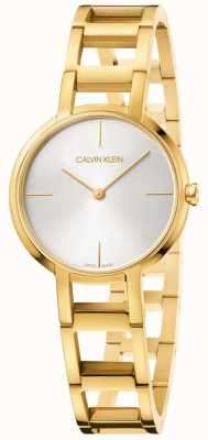 Calvin Klein Ladies acclamations montre en or jaune K8N23546