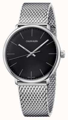 Calvin Klein Montre à cadran noir midi haute K8M21121