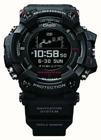 casio g shock rangeman gps position solaire rechargable gpr b1000 1er first class watches fra. Black Bedroom Furniture Sets. Home Design Ideas