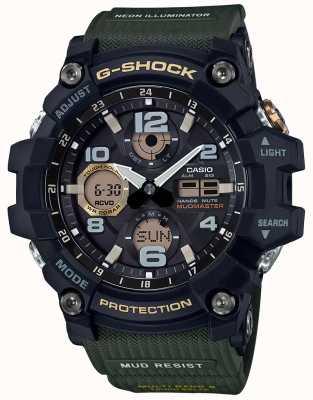 Casio G-shock mudmaster waveceptor bracelet vert GWG-100-1A3ER