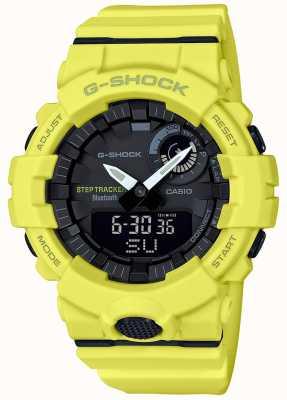Casio G-shock bluetooth fitness étape tracker bracelet jaune GBA-800-9AER
