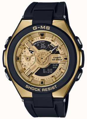 Casio Baby-g g-ms chronographe d'alarme glamour en or MSG-400G-1A2ER