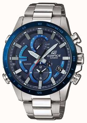 Casio Edifice bluetooth dur solaire super illuminateur bleu EQB-900DB-2AER