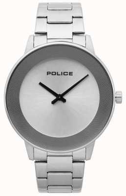 Police Montre minimaliste en acier inoxydable pour homme 15386JS/04M