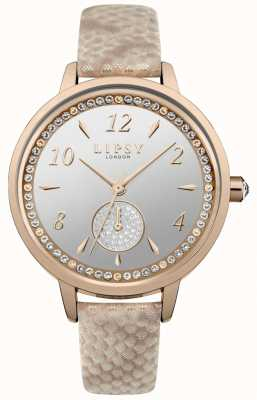 Lipsy bracelet en or rose et boîtier LP582