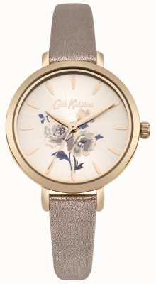 Cath Kidston Womens île botte métallique montre bracelet en or rose CKL049RG