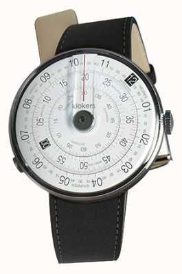 Klokers Klok 01 noir tête de montre mat noir double sangle KLOK-01-D2+KLINK-02-380C2