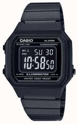 Casio Illuminateur numérique classique de noyau noir IP enduit B650WB-1BEF