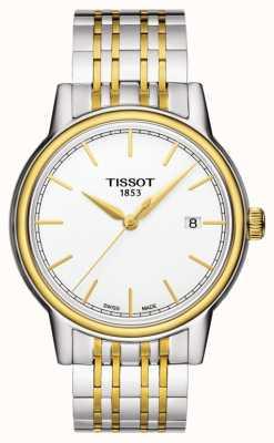 Tissot Carson mens quartz deux tons suisse date T0854102201100