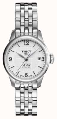 Tissot Womens le locle automatique en acier inoxydable bracelet T41118334