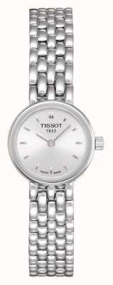 Tissot Joli bracelet en acier inoxydable pour femme cadran argenté T0580091103100