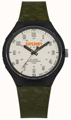 Superdry Sd armée urbaine xl tropic cam khaki sangle SYG225N