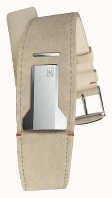 Klokers Klink 01 gris alcantara sangle seulement 22mm de large 230mm de long KLINK-01-MC6