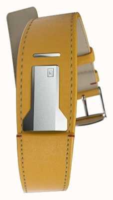 Klokers Klink 01 newport bracelet jaune seulement 22mm de large 230mm de long KLINK-01-MC7.1