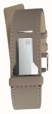 Klokers Klink 04 grege sangle simple seulement 22mm large 230mm KLINK-04-LC9