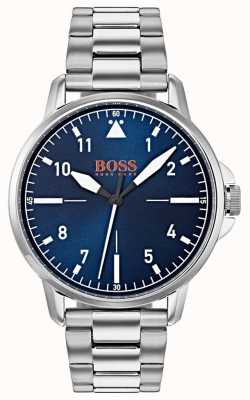 Hugo Boss Orange Bracelet en acier inoxydable bleu 1550063