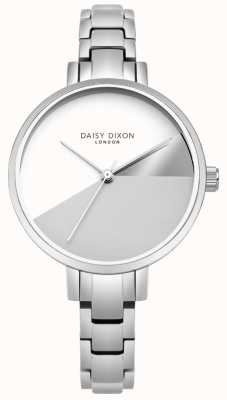 Daisy Dixon Mesdames ava argent trois couleur cadran argent bracelet en acier DD065SM