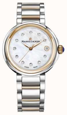Maurice Lacroix Bracelet bicolore fiaba en nacre pour femme FA1007-PVP13-170-1