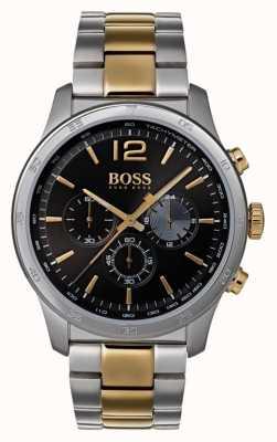Hugo Boss Montre chronographe professionnel pour homme à deux tons 1513529