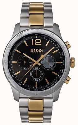 Boss Bracelet bicolore pour homme professionnel avec chronographe 1513529