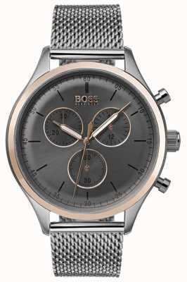 Hugo Boss Montre chronographe compagnon pour homme gris 1513549