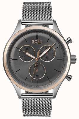 Boss Montre chronographe compagnon pour homme gris 1513549