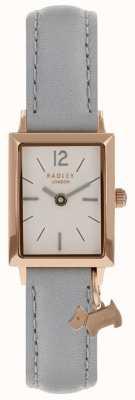 Radley Womens primrose hill montre bracelet en cuir gris RY2532