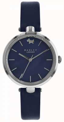 Radley Womens st dunstans marine montre en cuir RY2551