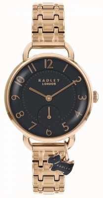 Radley Womens southwark park montre bracelet en or rose RY4302