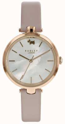 Radley Womens st dunstans montre en cuir nude RY2552
