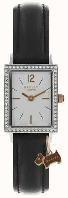 Radley Womens primrose hill montre bracelet en cuir noir RY2533