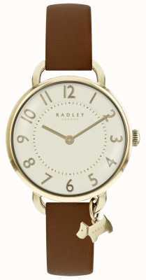 Radley Womens southwark park montre bracelet en cuir marron RY2546