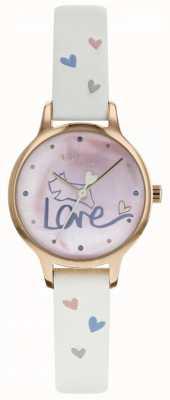 Radley Womens amour montre bracelet en cuir plaqué rose RY2574
